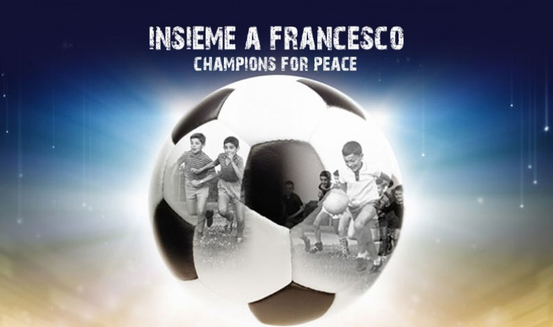 Insieme a Francesco Champions for Peace: lo Sport torna all'Etica