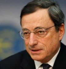 Monito di Mario Draghi all'Italia