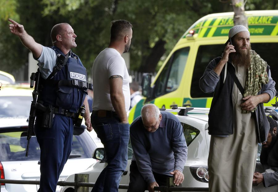 New Zealand Mosque Shooting - Photo/Mark Baker - The Associated Press
