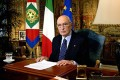 Il Presidente della Repubblica Italiana Giorgio Napolitano