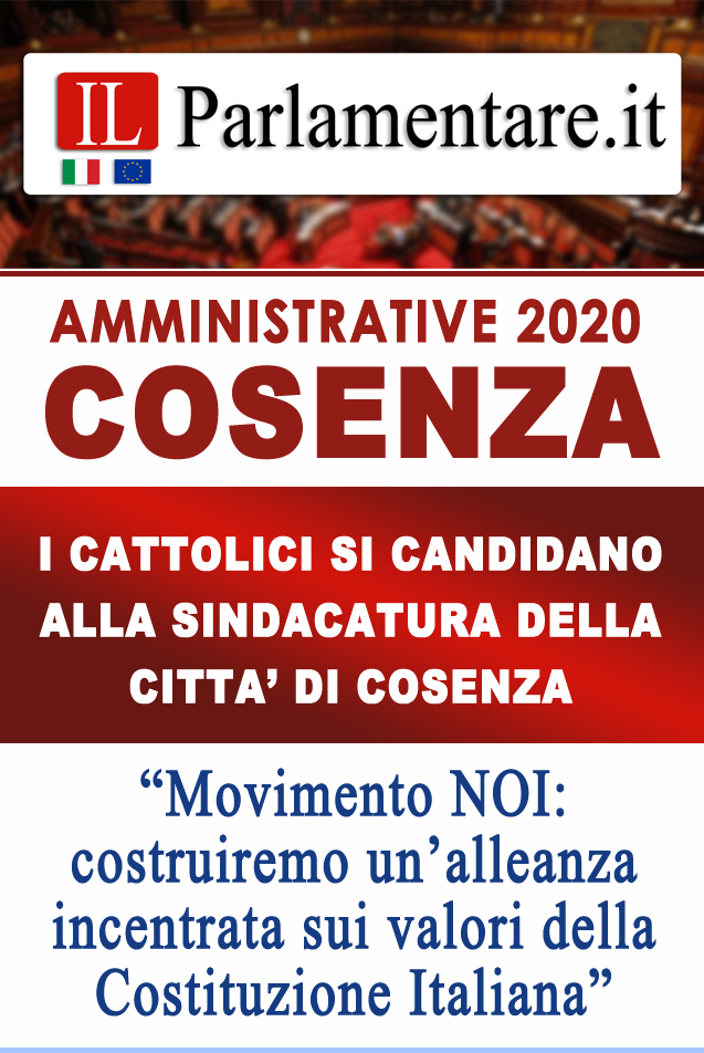 La Locandina de ILPARLAMENTARE.IT dedicata all'Evento dei Cattolici del Movimento NOI