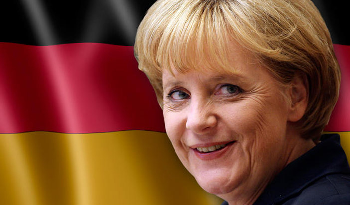 angela merkel-germania