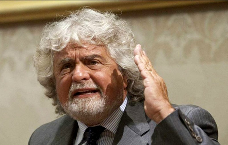 Beppe Grillo Leader del Movimenti 5 Stelle