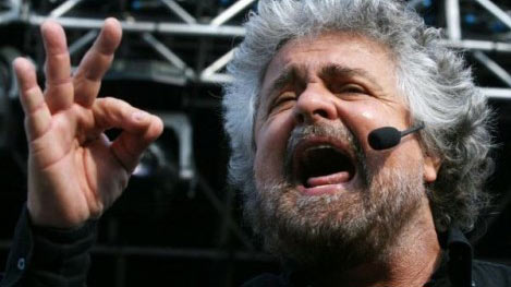 Beppe Grillo - Leader Movimento 5 Stelle