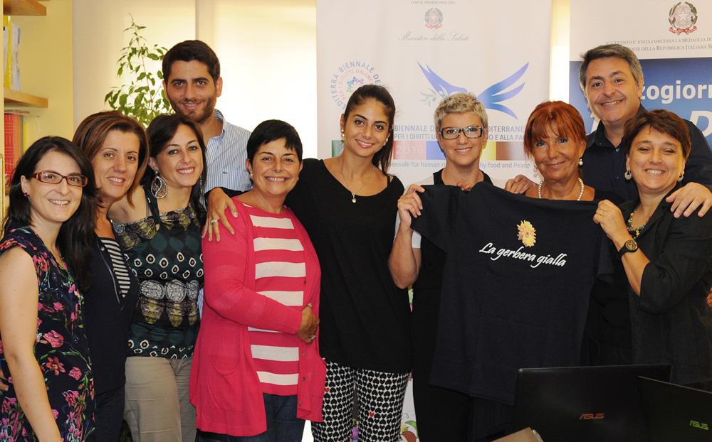 Il gruppo di Esperti con Adriana Musella di