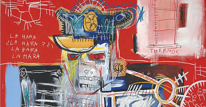 """La Hara"" - Dipinto di Jean-Michel Basquiat"