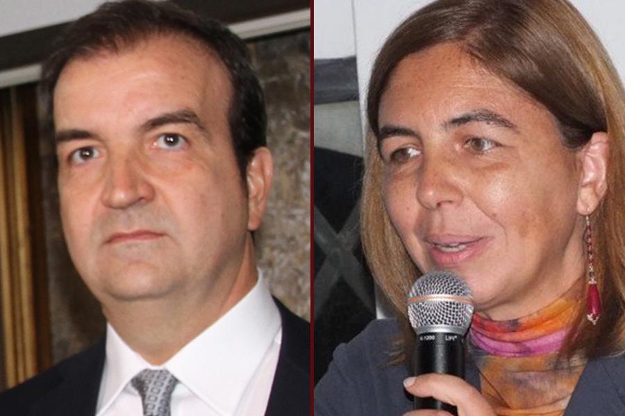 La Senatrice Margherita Corrado (M5S) - Il Sindaco Mario Occhiuto (FI)