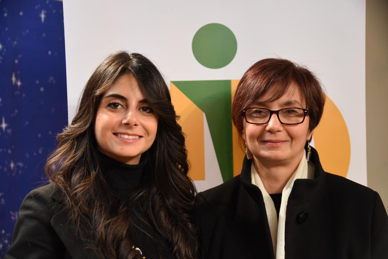 Da Sx: Silvia Lanzafame e Sandra Giudiceandrea