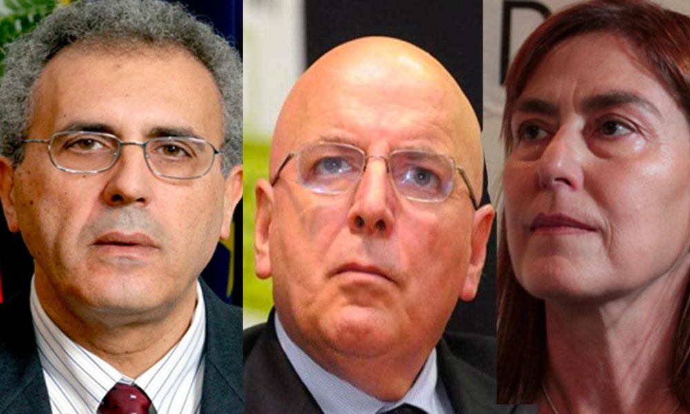 Da SX Nicola Adamo, il Presidente Mario Oliverio e l'on. Enza Bruno Bossio