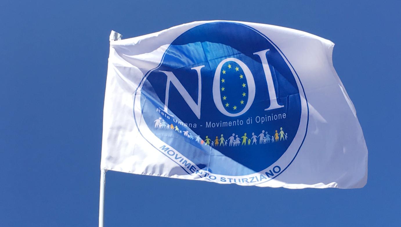 Bandiera e Logo del Movimento sturziano NOI