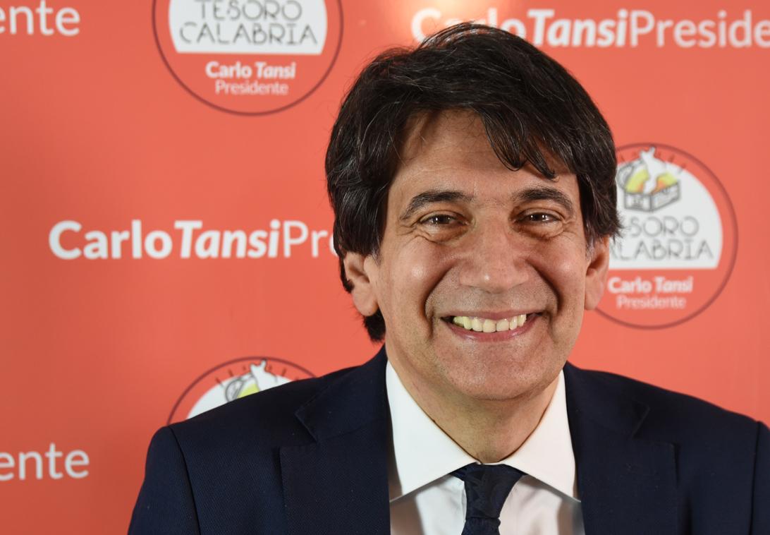 Carlo Tansi, candidato alla Presidenza della Regione Calabria