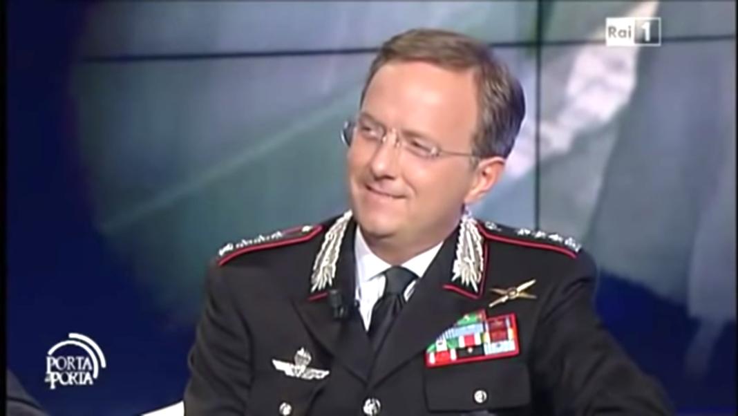 Il Colonnello dei Carabinieri Maurizio Bortoletti
