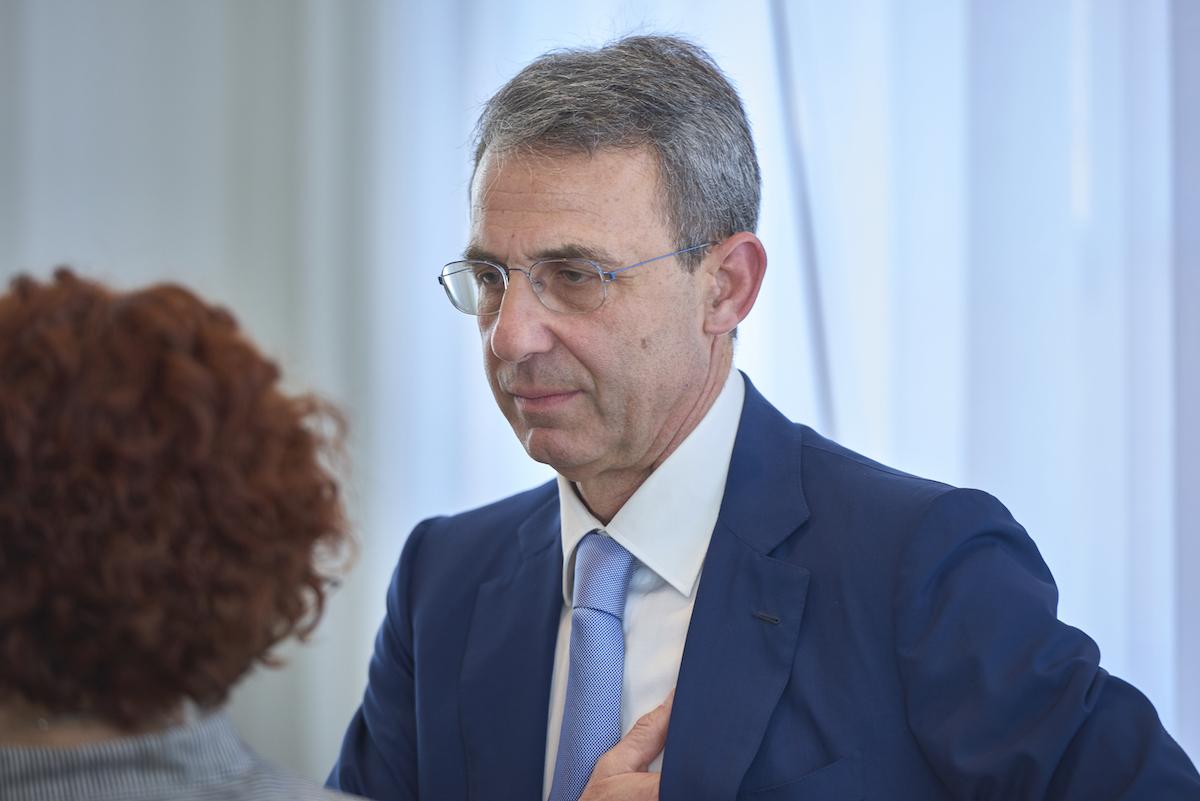 ministro dell'Ambiente Sergio Costa