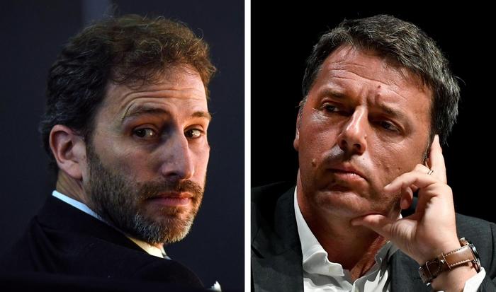Davide Casaleggio e Matteo Renzi