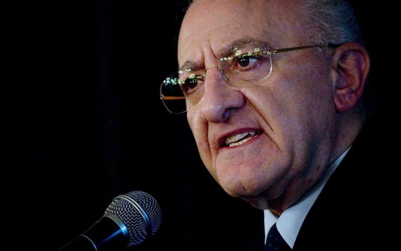 Vincenzo De Luca - Presidente della regione Campania