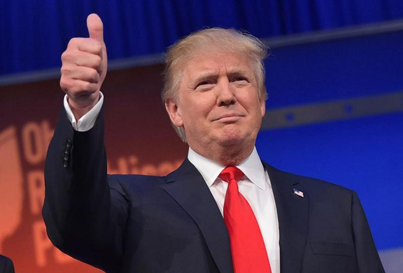 Il Presidente degli Stati Uniti d'America Donal Trump
