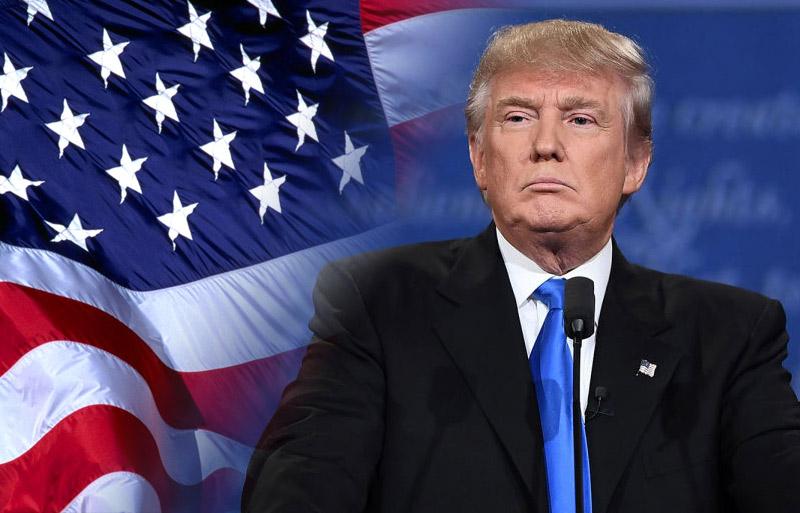 Il Presidente degli Stati Uniti d'America Donald Trump