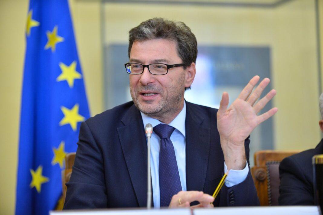 Giancarlo Giorgetti Ministro dello Sviluppo Economico