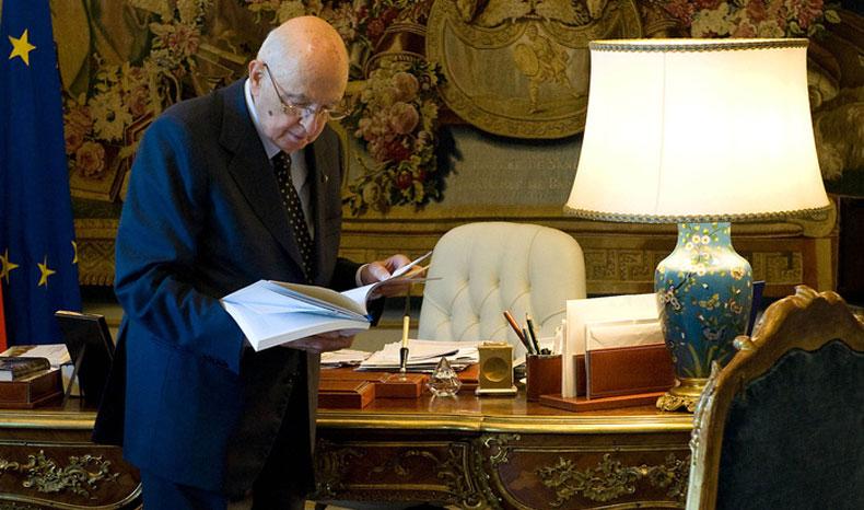 giorgio napolitano-quirinale-presidenza della repubblica-azione giudiziaria
