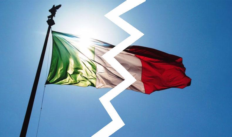 italia spaccata-politica-disoccupazione - crisi lavoro