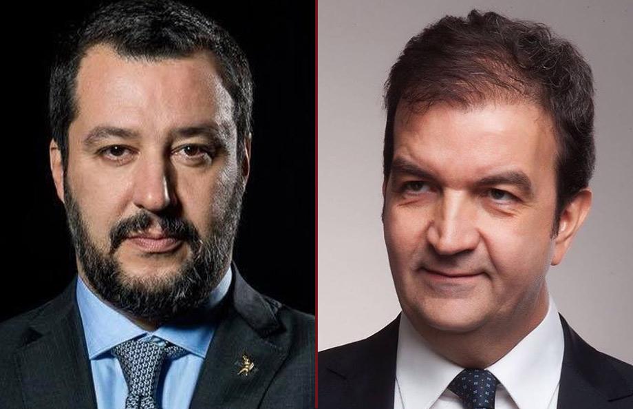 Matteo Salvini - Mario Occhiuto