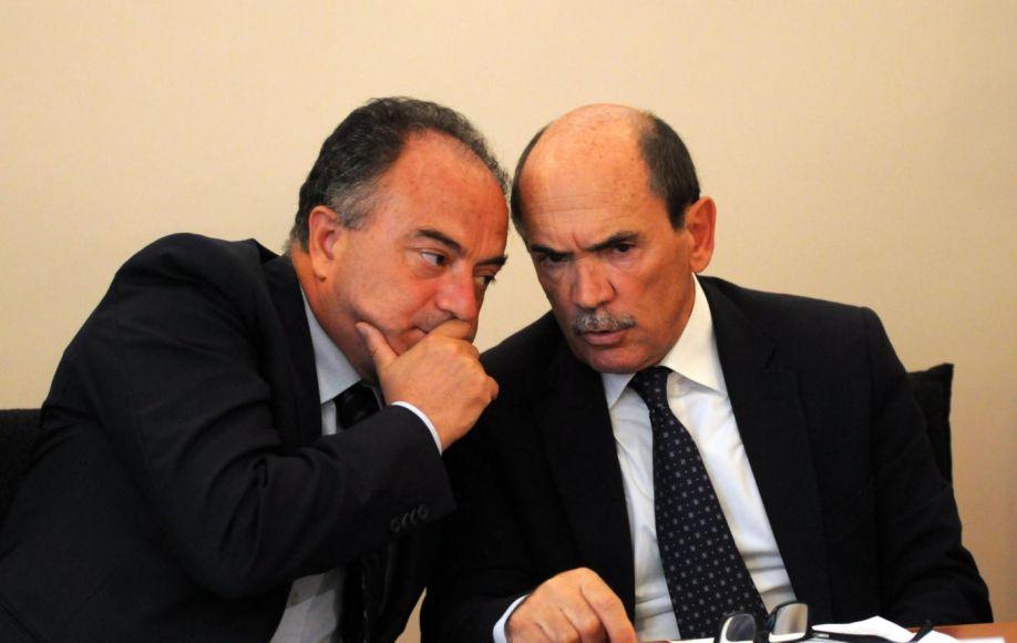 I Procuratori Nicola Gratteri e Federico Cafiero De Raho - Foto: rete