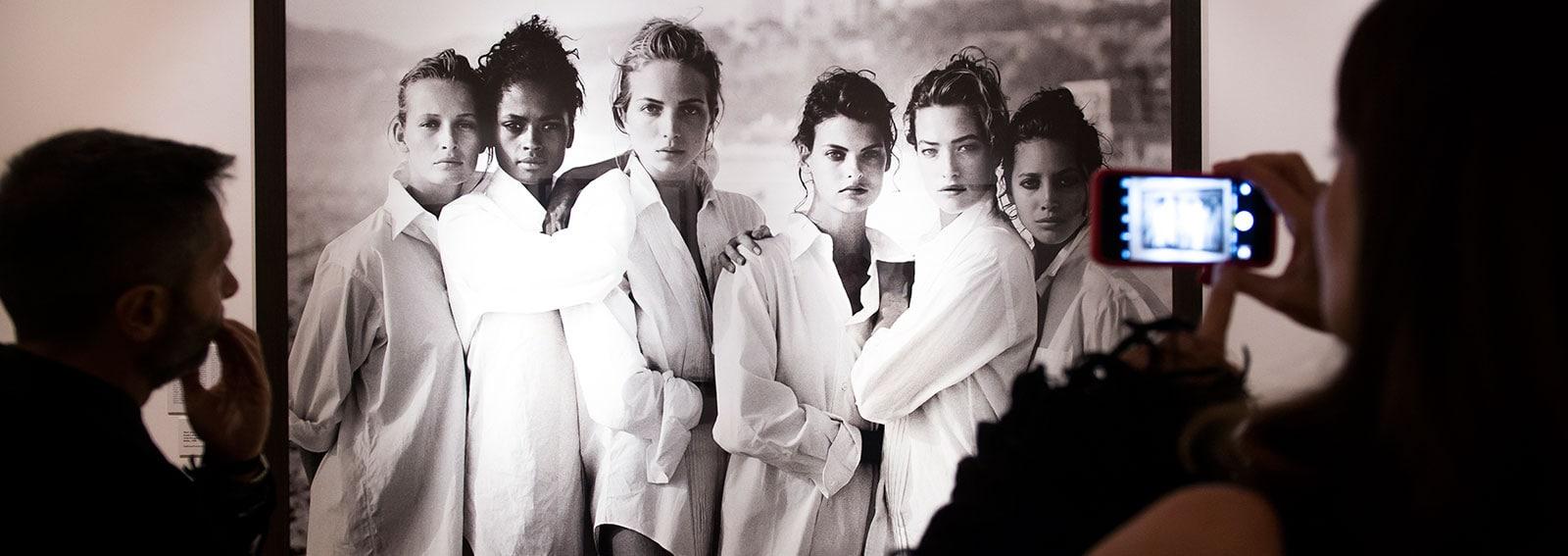 Le Top Model in Bianco e Nero di Peter Lindbergh