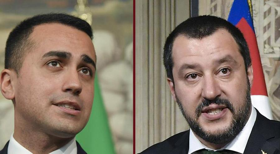 Luigi Di Maio - Matteo Salvini