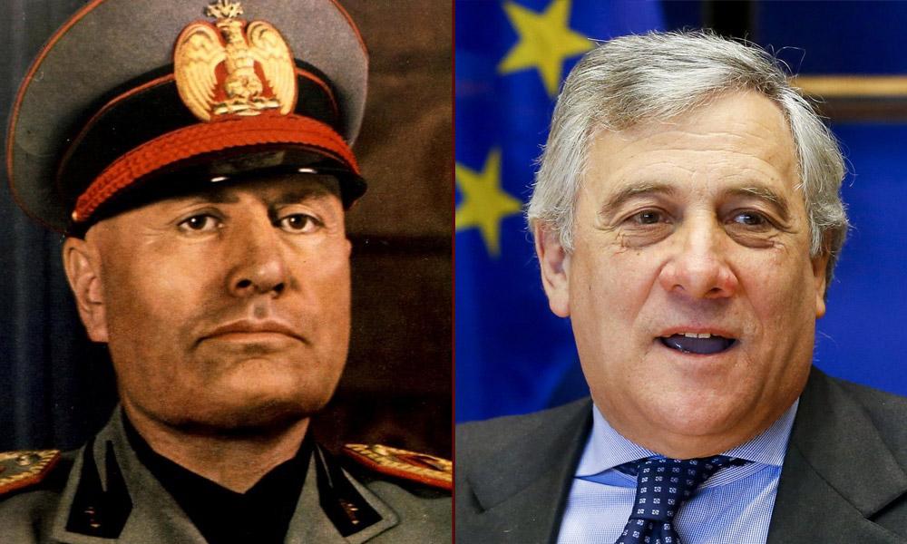 Antonio Tajani - Benito Mussolini